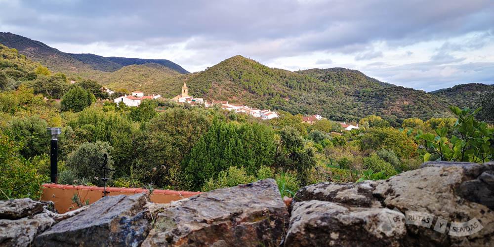 Vistas de Linares de la Sierra
