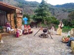 Escenas bíblicas y cotidianas del nacimiento de Jesús