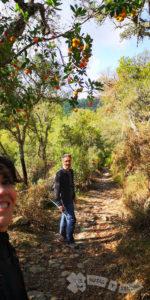 Por el Barranco del Valle del Águila