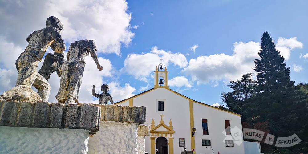 Fuente de los Jarritos y Ermita de Nuestra Señora del Carmen