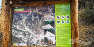 Panel de la Vía Verde