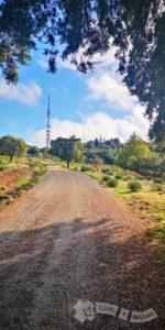 Llegando al Cerro de San Cristóbal