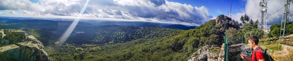 Vistas desde el Cerro de San Cristóbal