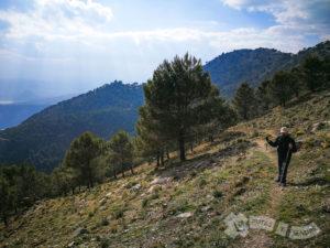 Ascenso por la Sierra de Rute
