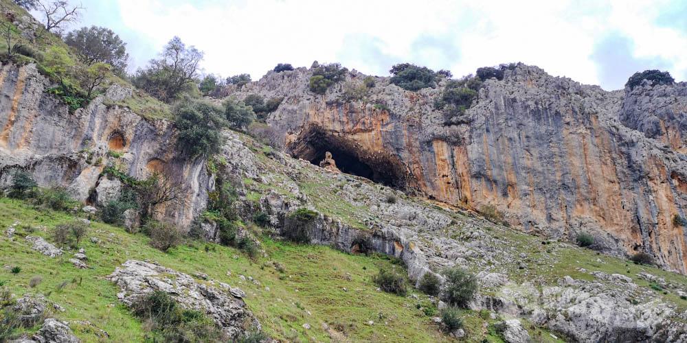 Vistas de la Cueva del Fraile