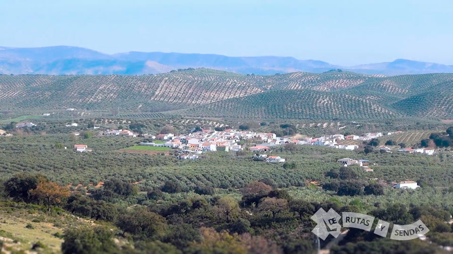 Las Lagunillas entre olivares