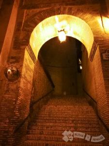 Puerta de acceso a la Alcazaba