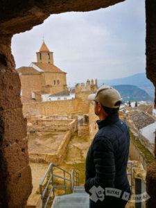 Vistas desde la entrada de la Torre del Homenaje