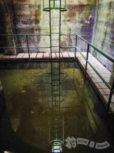 Almacenamiento de agua en el Aljibe
