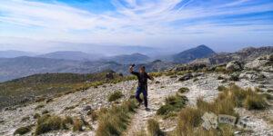 Cuenca del Alto Genil y Embalse de Iznájar al fondo