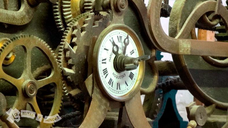 Mecanismo del antiguo reloj
