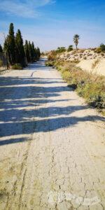 Pedaleando entre fincas de cultivo y tierras áridas