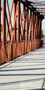 Puente de Hierro sobre el Segura