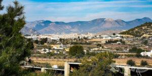 Vistas de Cehegín y Caravaca de la Cruz