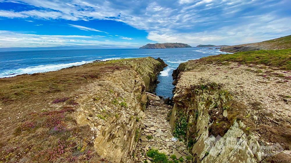 Dejando atrás el Cabo de San Adrián