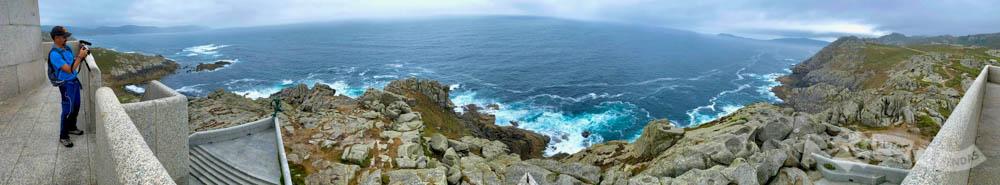 Vistas desde el Faro de Punta Nariga