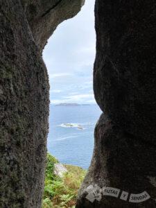Vistas de las Islas Sisargas y Restingas do Co