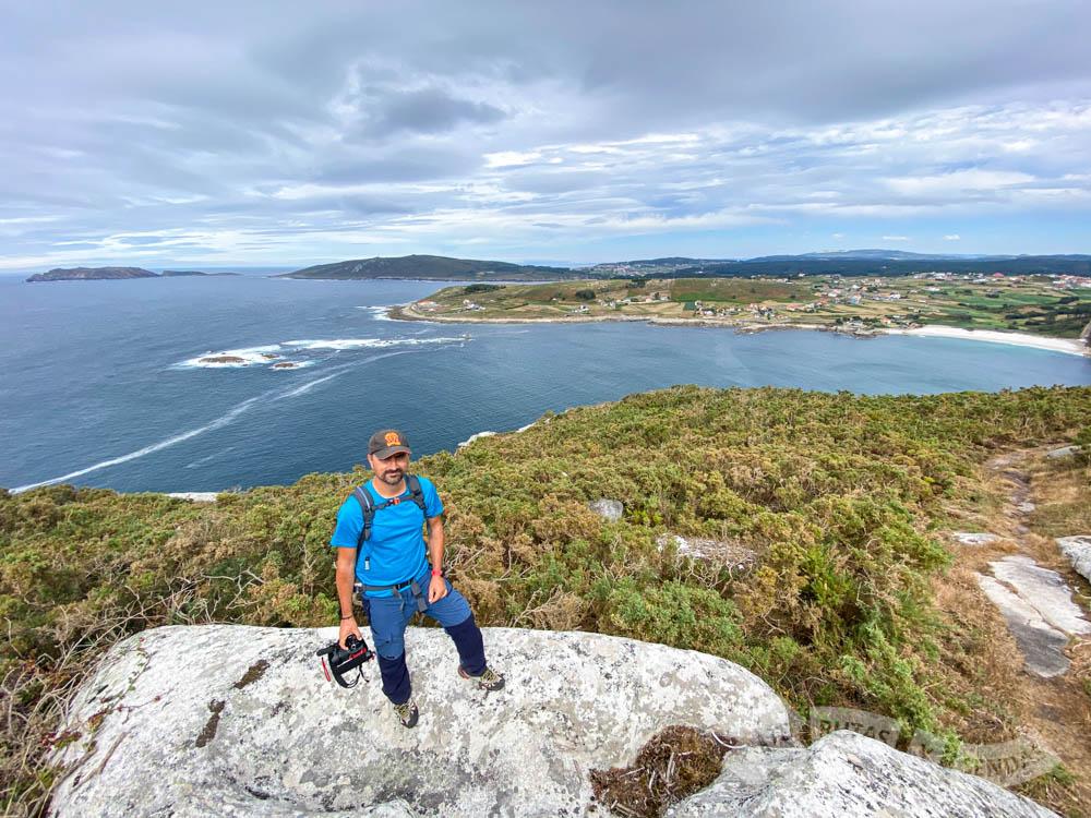 Vistas desde la subida al Monte Nariga
