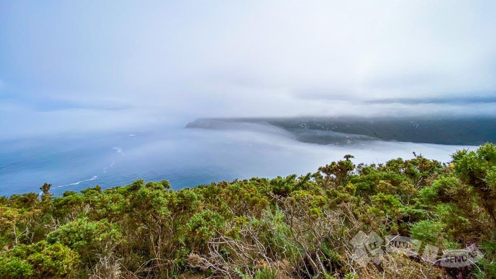 Panorámicas hacia Punta Nariga