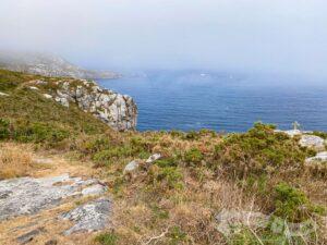 Cruz en la cresta de Punta Espiñeira