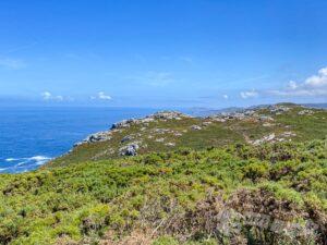 Vistas de Punta Nariga e Islas Sisargas