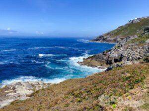 Tramo de litoral hasta Punta do Roncudo