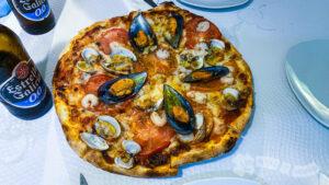Pizza Camariñana