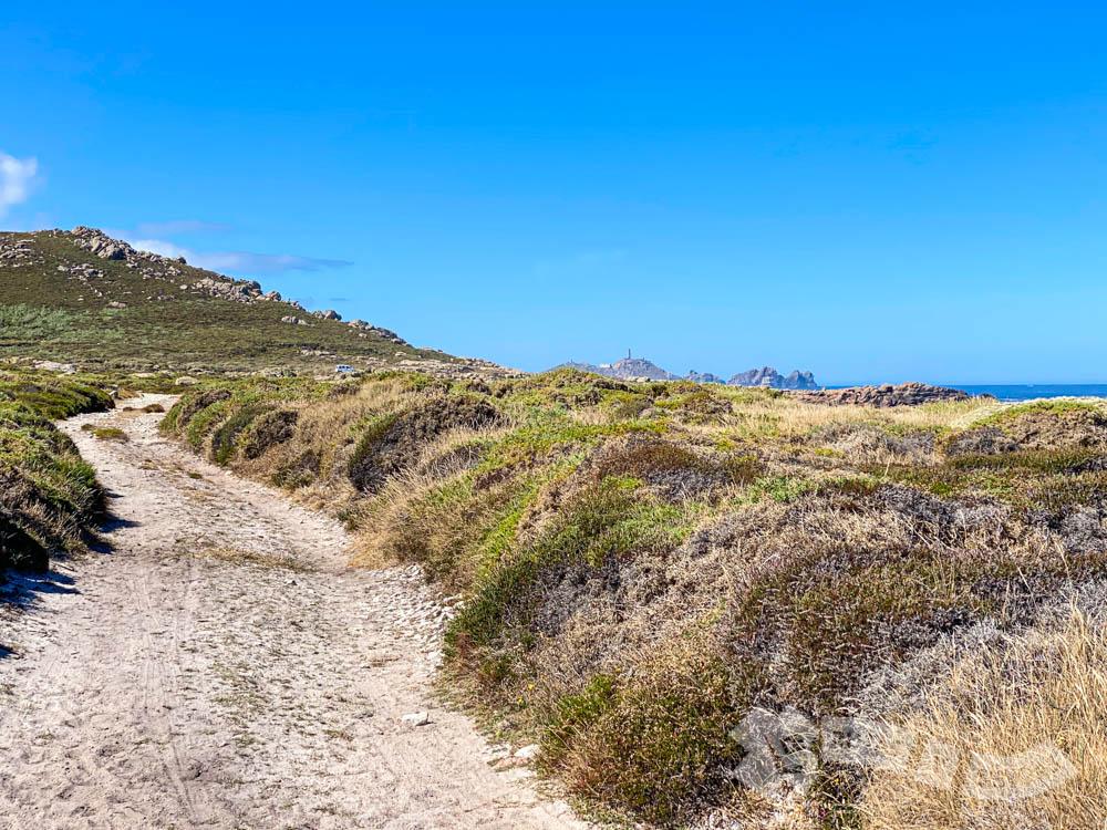 Abriendo las vistas hacia el Cabo Vilán