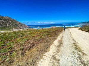 Flanqueando la Playa da Pedrosa
