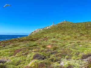 Descenso desde el Faro Vello