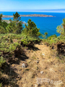 Descenso por el Monte Pedrouzo