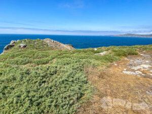 Senda costera que rodea el Cabo Touriñán